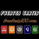 Fuentes Gratis - freefonts100.com